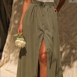 PISTOLA My Squad Maxi Skirt